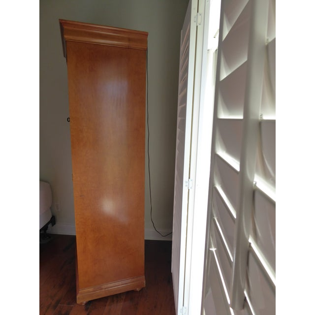 Mt. Airy Entertainment Display Armoire Cabinet - Image 11 of 11