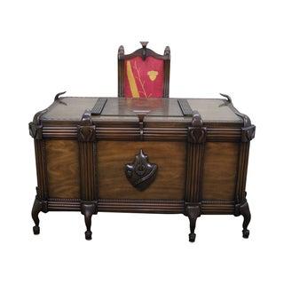 Art Deco Custom Executive Desk and Chair