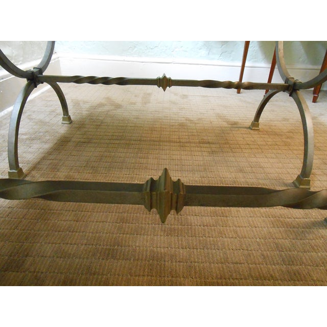 Regency Directoire X Base Iron Consoles - A Pair - Image 7 of 9