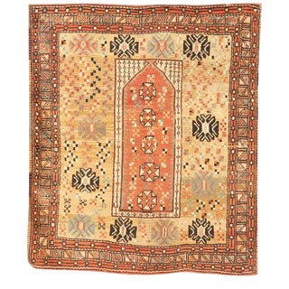 Rare and Unusual Antique Turkish Melas Rug