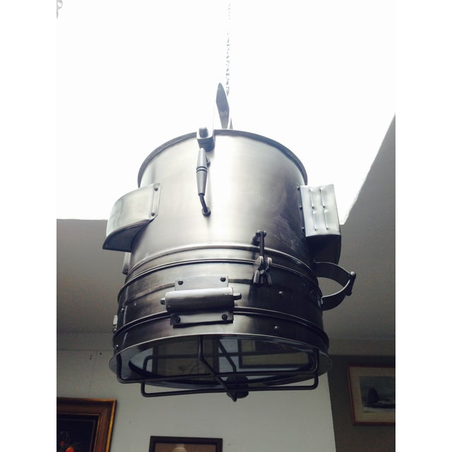 Large Industrial Hanging Pendant Light Chandelier