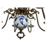 Image of Blue & White Porcelain Chandelier