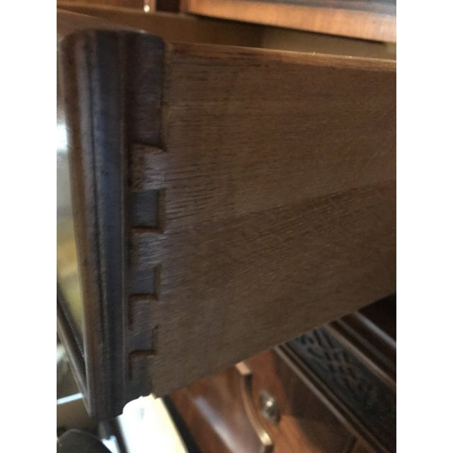 Vintage Century Cherry Wood Bar Armoire Cabinet - Image 10 of 11
