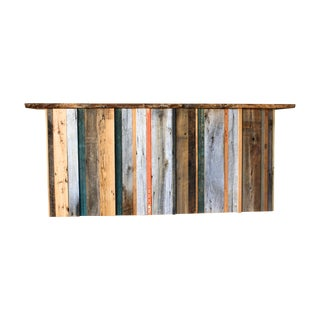 Multi-Color Reclaimed Wood Bar