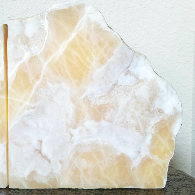Vintage Natural Stone Bookends- A Pair - Image 4 of 8