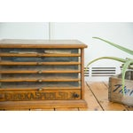 Image of Antique Victorian Eureka Silk Spool Cabinet