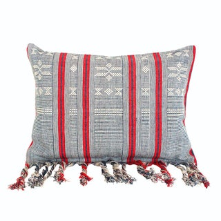 Sumba French Striped Ikat Pillow Cover
