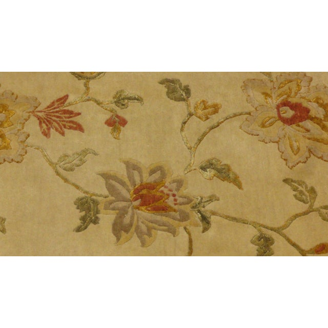"""Nepalese Silk & Wool Rug - 8'5"""" x 5'6"""" - Image 2 of 4"""
