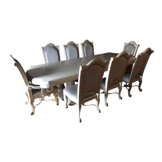 Pearl Dining Table Set - Set of 9