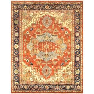 """Pasargad Serapi Wool Area Rug - 9' 2"""" X 12' 1"""""""