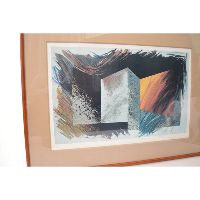 Modern Framed Print Signed by Laddie John Dill - Image 3 of 6