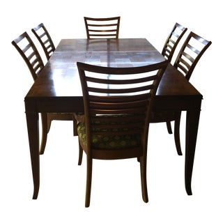 Checkerboard Top Dining Table & Chairs