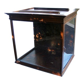 Antique Lighted Display Showcase / Cabinet