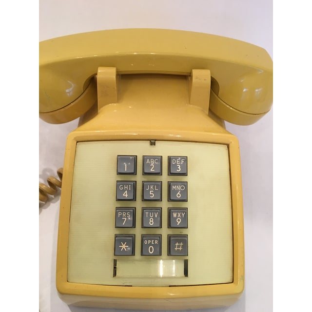 Vintage Bell Western Yellow Desktop Telphone - Image 4 of 9
