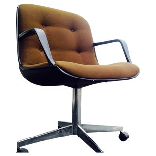 Steelcase Mid-Century Brown Office Chair