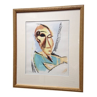Pablo Picasso Head of a Woman Lithograph
