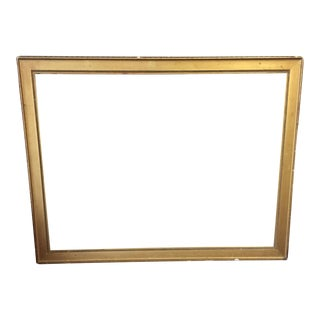 Foster Brothers Boston Gilt and Gesso Picture Frame