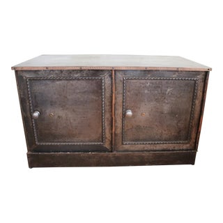 Victorian Steel Ledger Cabinet