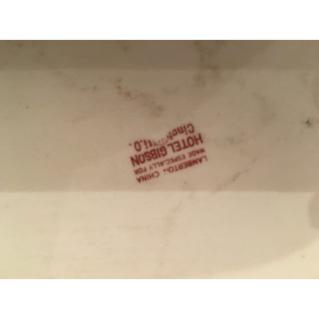 Hotel Gibson Antique Dresser Tray - Image 6 of 6