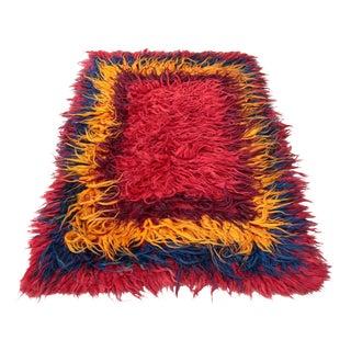 """Handmade Turkish Kilim Carpet -- 3'11"""" X 6'7"""""""
