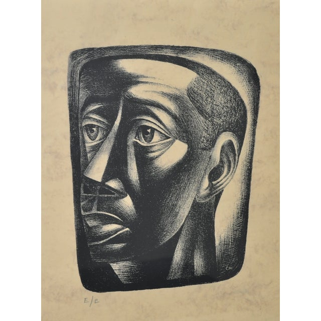 "Charles White ""Joven"" Lithograph, C.1946 - Image 3 of 7"