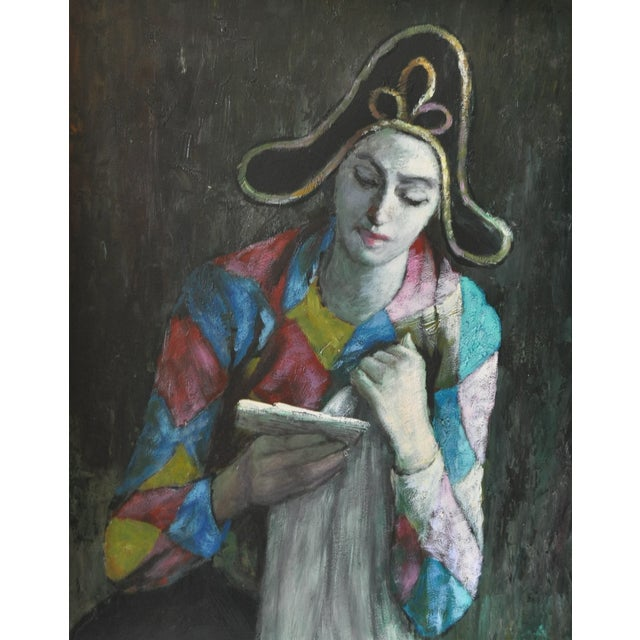 Image of Vintage Painting After Picasso C.1970