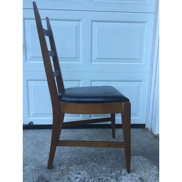 Mid-Century Ladder Back Side Chair - Image 4 of 10