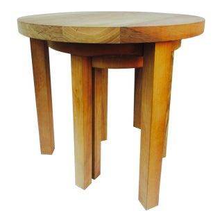 Minimalist German Nesting Tables - Set of 3