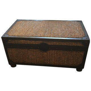 Tommy Bahama Woven Trunk Table