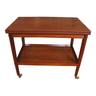 Grete Jalk Teak Bar Cart