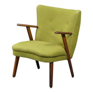 Danish Mid-Century Easy Chair in the Style of Madsen and Schubel