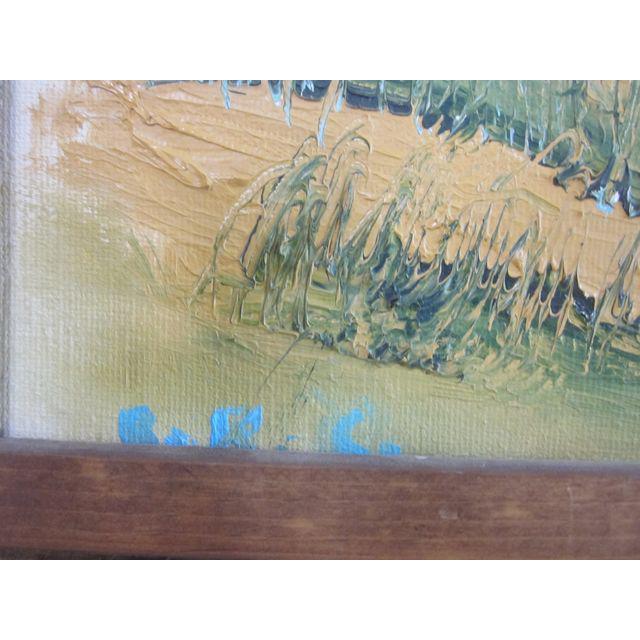 Coastal Beach Scene Signed Painting - Image 8 of 9