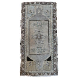"Turkish Oushak Ushak Rug - 1'8"" X 3'2"""