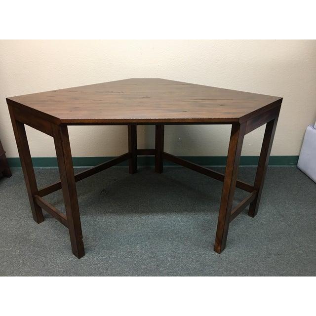 Printer 39 s corner desk by pottery barn set of 3 chairish for Pottery barn printer s desk reviews