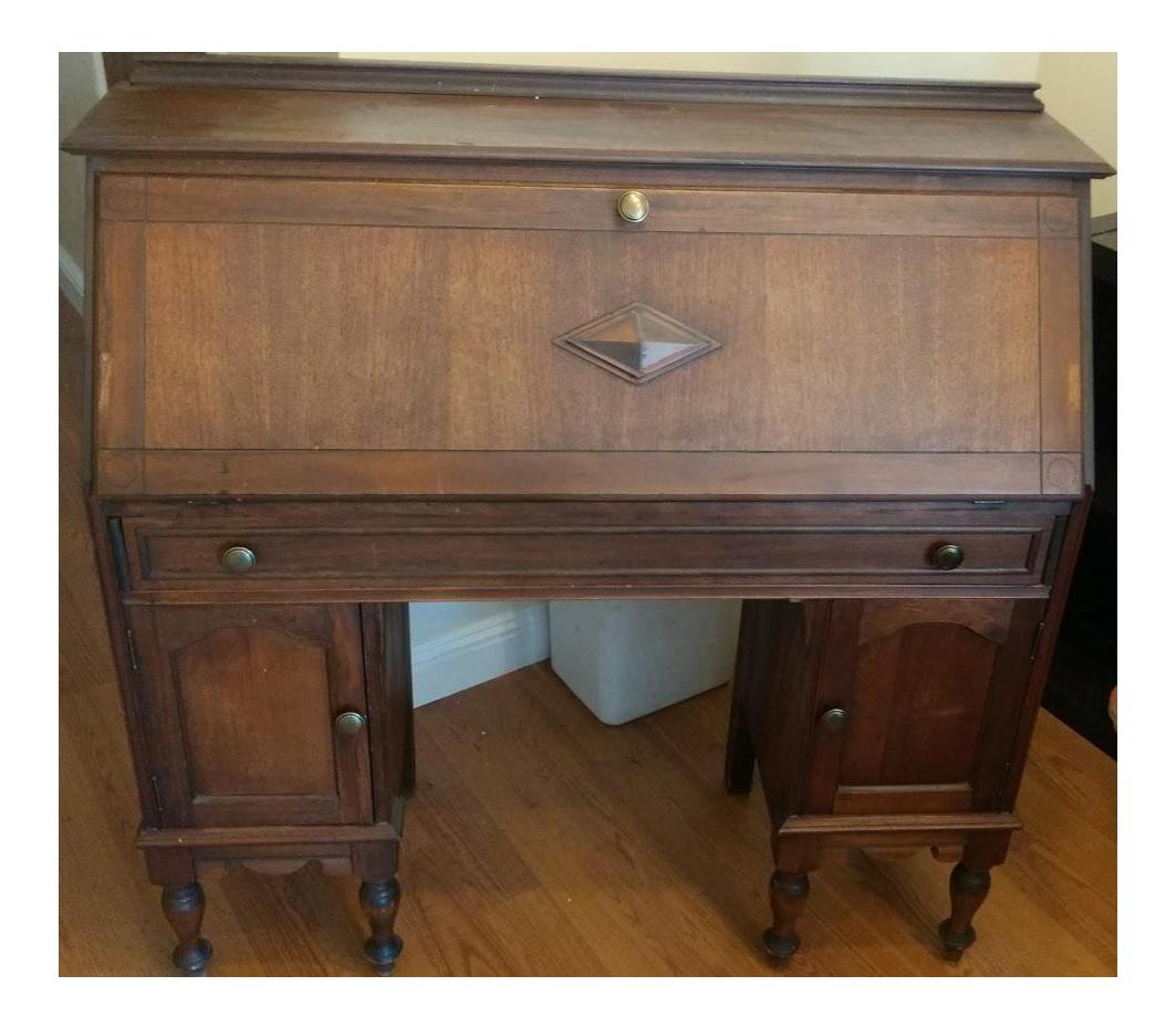 Attractive Northwestern Cabinet Co. Secretary Desk