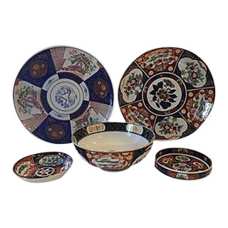 Imari Porcelain Collection - Set of 5