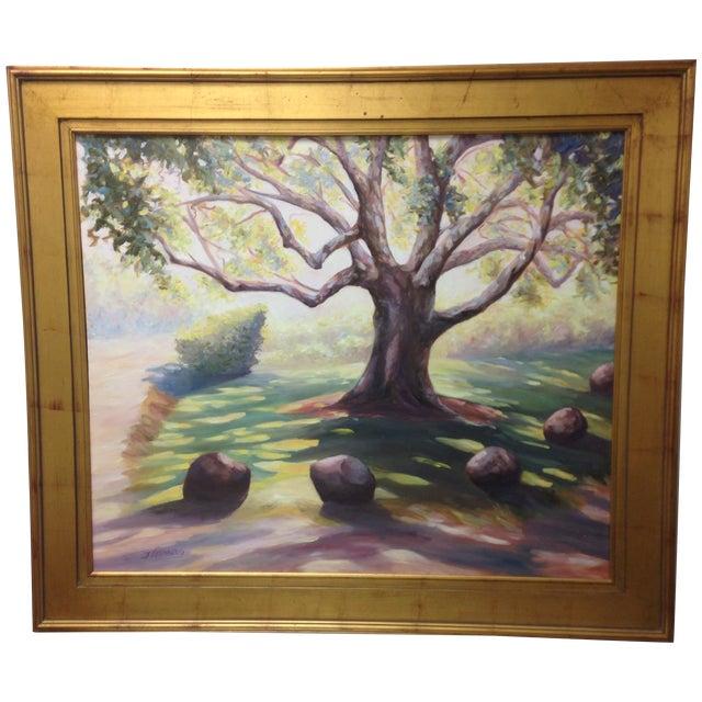 Image of J. Ellenburg Original Oil Landscape Painting
