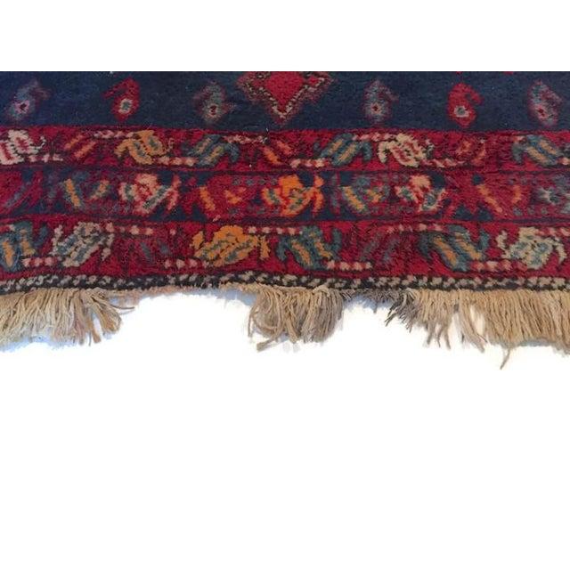 Vintage Ornate Kazak Persian Rug - 5' x 6' - Image 5 of 10