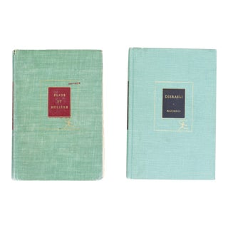 Vintage 1950s Play & Literature Hardback Books - A Pair