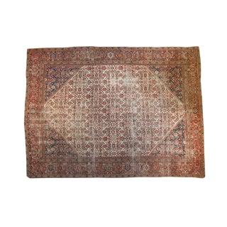 """Antique Mahal Carpet - 9' x 12'4"""""""