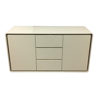 Cream Lacquered Sideboard