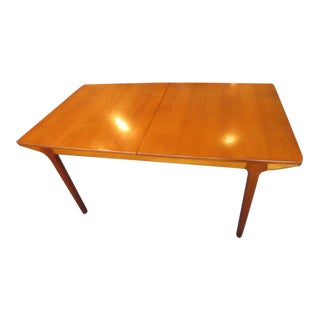 McKintosh Teak Dining Table with Two Leaves