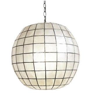 Capiz Globe Lantern