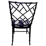 Image of Kessler Black Bamboo-Style Dining Chairs - Set of 6