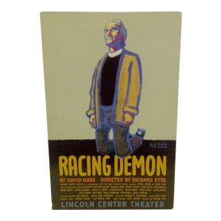 "Vintage ""Racing Demon"" Theater Poster"