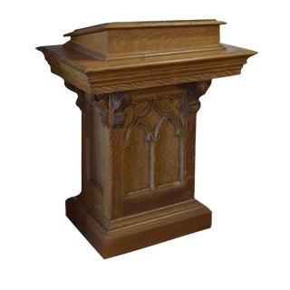American Gothic Adjustable Lectern