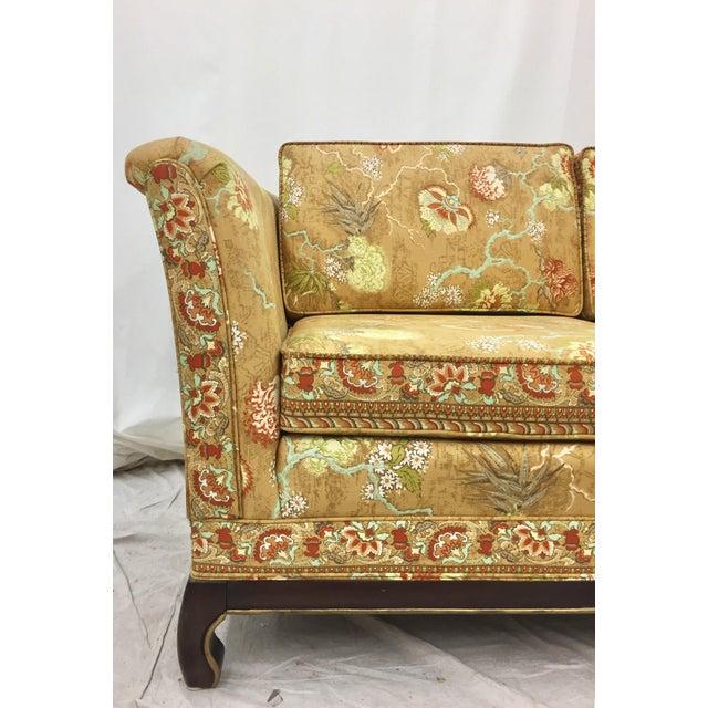 Mid Century Modern Broyhill Ming Style Loveseat Chairish
