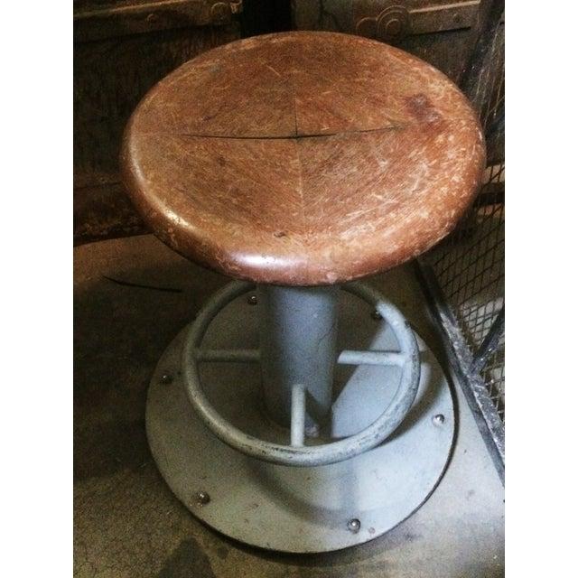 Vintage Maritime Nautical Stool Chairish