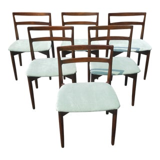 Harry Ostergaard Rosewood Model 61 Dining Chairs by Randers Mobelfabrik - Set of 6