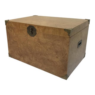 Campaign Style Trunk on Wheels